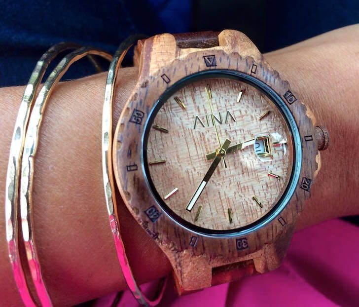 The Kupuna waterproof watch is handcrafted from Hawaiian Koa wood | Inhabitat - Sustainable Design Innovation, Eco Architecture, Green Building