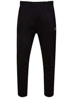 REGULAR FIT SWEAT PANTS, comfortable, available in black | JACK & JONES