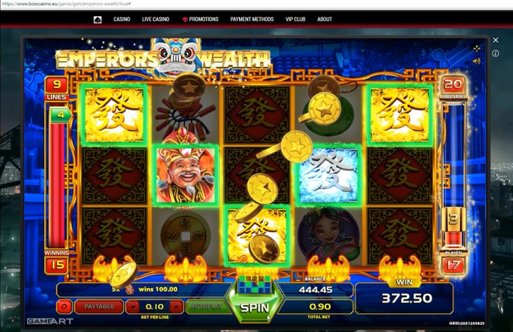 Have you already tried Emperor's Wealth - one of the latest slots by GameArt? This game features a really generous Free Spins mode! You can watch this video-review and see it for yourself if you don't believe ;-) Play and win