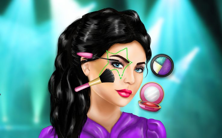 Create Haifa Wehbe's makeup! http://www.cutezee.com/haifa-wehbe-makeup