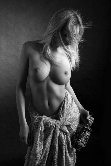nude women with jack daniles