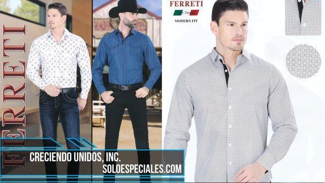 40bca0ee Catálogo nuevo Ferreti Jeans ropa para hombre al por mayor en USA Hablenos  gratis: 855