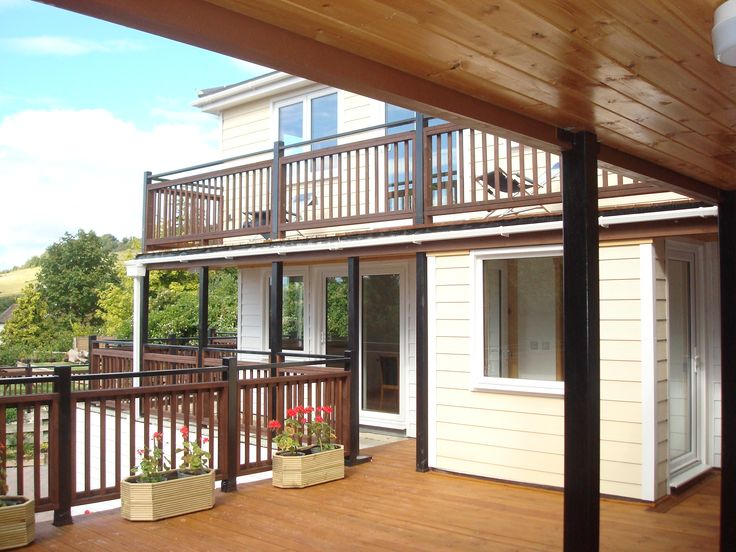 Mix classic materials with modern when you use our PVC cladding products for your summer home #freefoam
