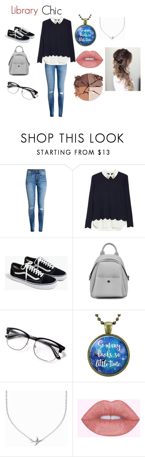 """""""Library chic"""" by hufflepuffprincess101 ❤ liked on Polyvore featuring H&M, Ted Baker, J.Crew, Minnie Grace and lilah b."""