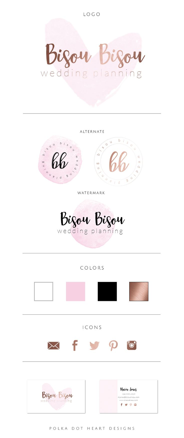 Best 25 wedding logo inspiration ideas on pinterest for Planner design