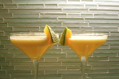 Fresh Melon Margaritas | Things I love today | Pinterest