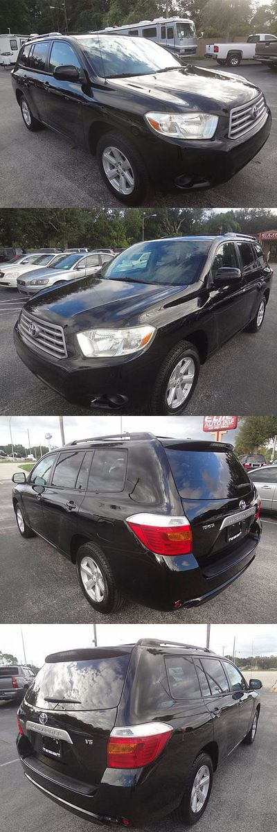 SUVs: 2008 Toyota Highlander Fwd 4Dr 2008 Highlander V6 Suv~3Rd Row~Rear A/C And Heat~Side Curtain Airbags~Power Seat BUY IT NOW ONLY: $11995.0