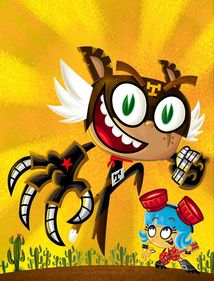El Tigre - Mexico Nick cover by mexopolis.deviantart.com on @deviantART/ I love this show!