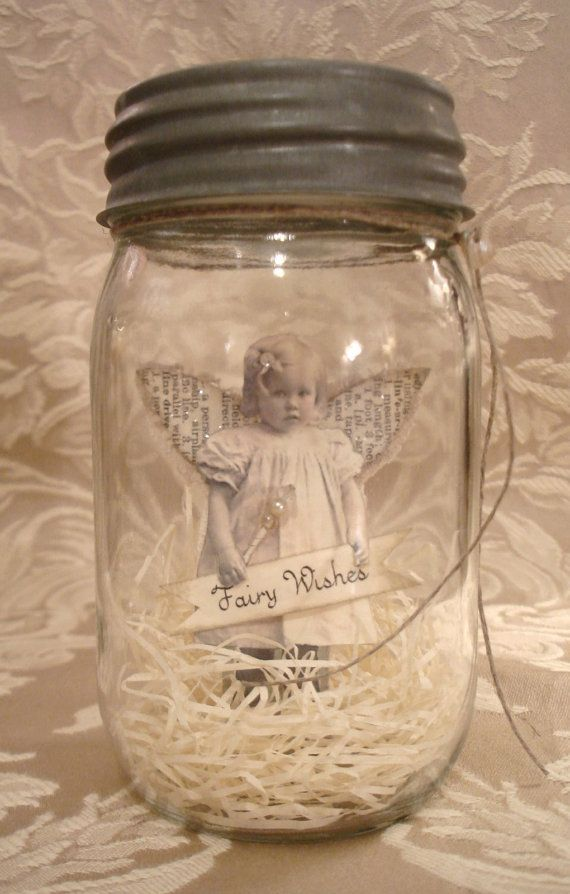 fairy in a jar. squealing with cuteness.