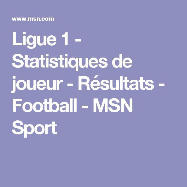 Ligue 1 - Statistiques de joueur - Résultats - Football - MSN Sport