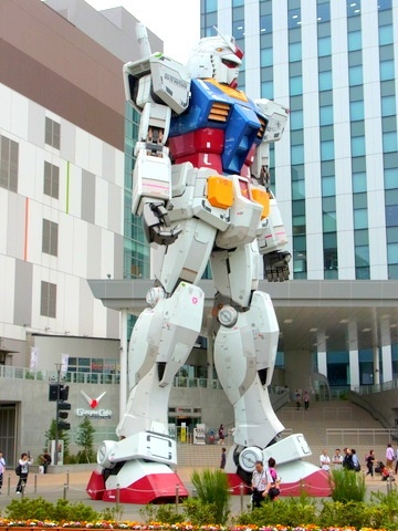 お台場ダイバーシティーのガンダム Gundam at Diver City at Odaiba