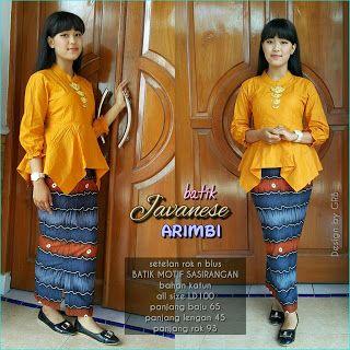 Baju Batik Kerja Wanita, Grosir Batik Solo, Baju Batik Pria: Baju Batik Wanita, Kebaya Modern, Setelan Arimbi
