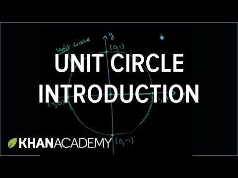 Unit circle | The unit circle definition of the trigonometric functions | Khan Academy