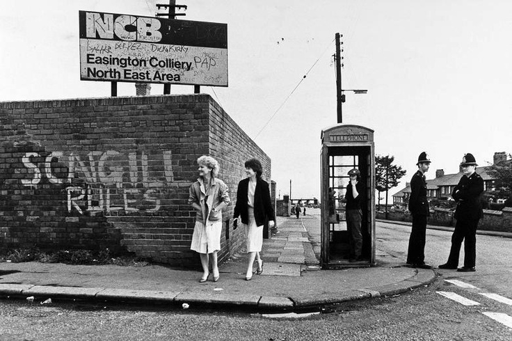 The Miner's strike in the town of my birth