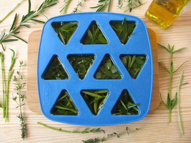 Láttál már olívakockába fagyasztott zöldfűszert? | Hobbikert.hu
