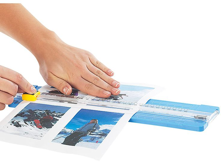 Papierschneidemaschine mit Ersatzklinge PEARL Rollen-Schneidemaschinen
