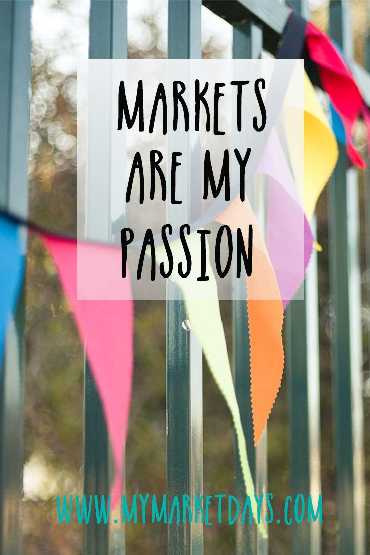 I've been visiting markets ever since I was a little girl and now consider myself so fortunate to run my own market in Australia via @My Market Days
