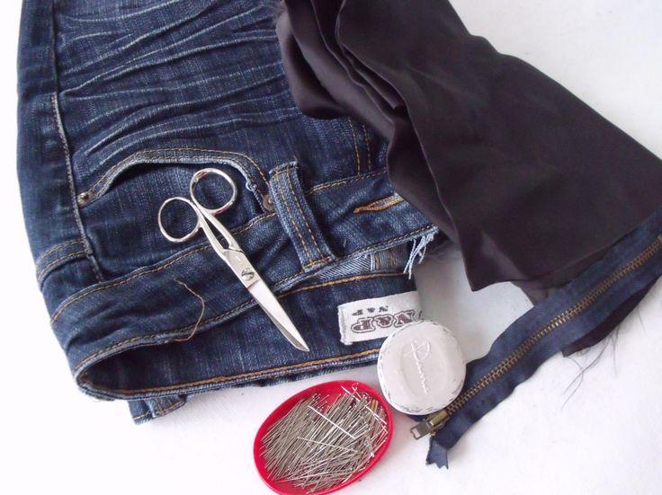Come riutilizzare vecchi jeans