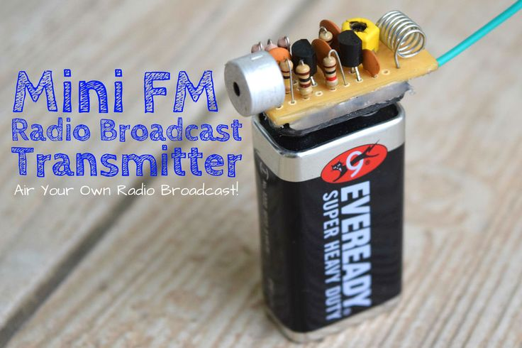 See how to build this FM transmitter surveillance bug.  Have you ever wanted to be a radio personality and maybe a sportscaster calling a big game for othe
