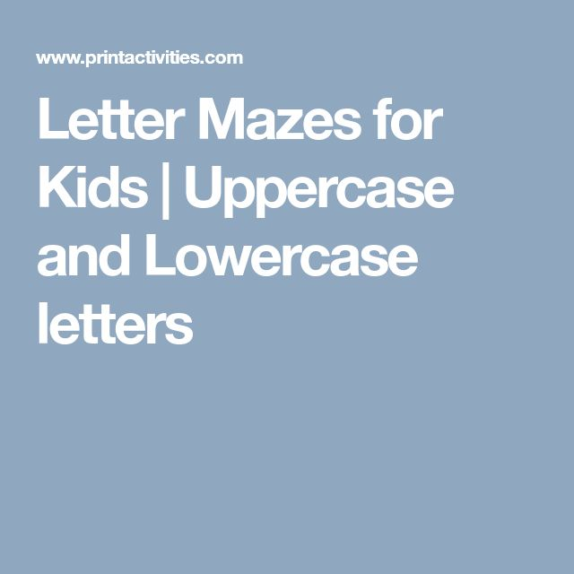 Best 25 Uppercase and lowercase letters ideas on