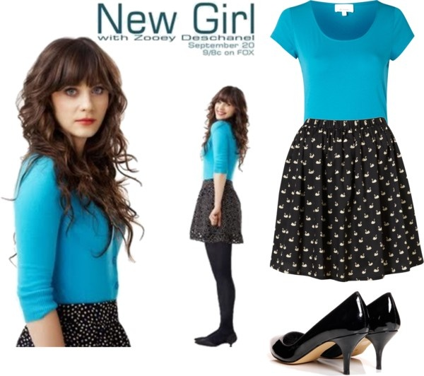 """New girl style"" by claudiazza ❤ liked on Polyvore"