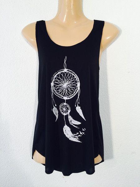 Camiseta+atrapa+sueños+de+PIKMODE+por+DaWanda.com