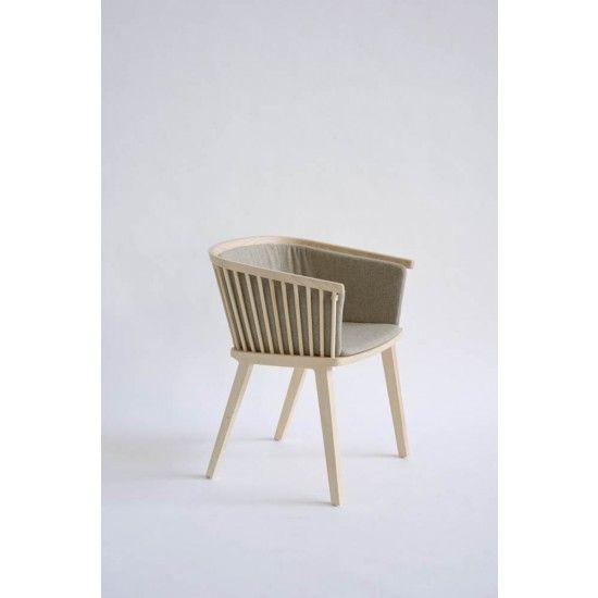 Cole Italian Design Label Secreto Dress - Armchair Cover - Nord Wool Greige