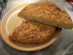Frittata di Maccheroni...good for left over spaghetti
