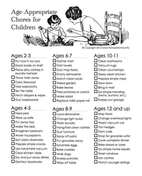 Should You Make Your Kids Do Chores? Absolutely! Good chore chart and allowance strategy.
