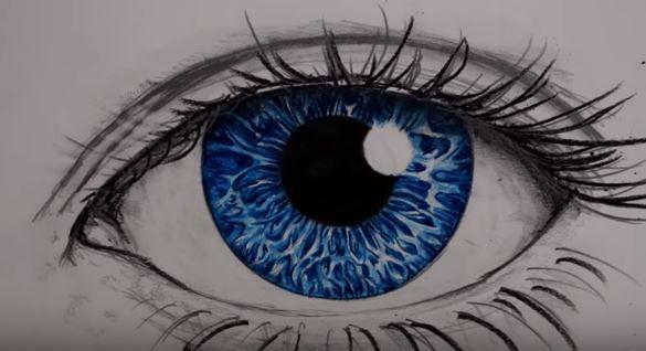 رسمة عين تعلم رسم العين خطوة بخطوة Drawings Eyes