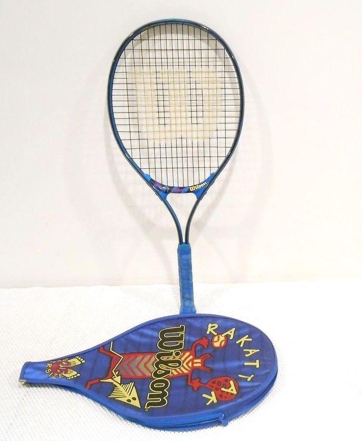Wilson Youth Rakattack Tennis Racquet & Head Cover Grip 3