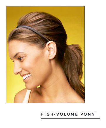 Easy Hairstyles for Long Hair: High-Volume Pony