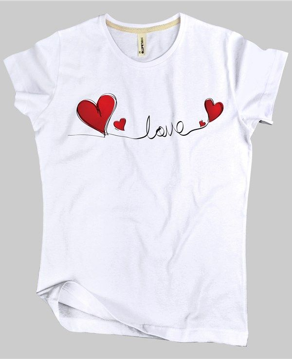 Tish-O Nolimito Love Bayan Tişört