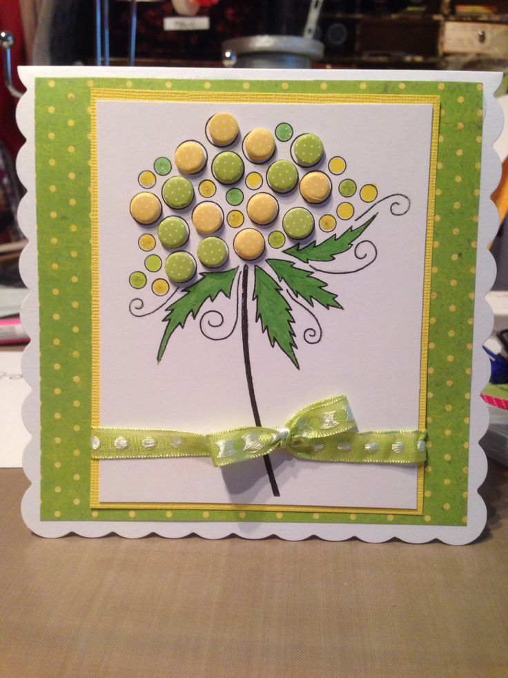 Card candi woodware stamp
