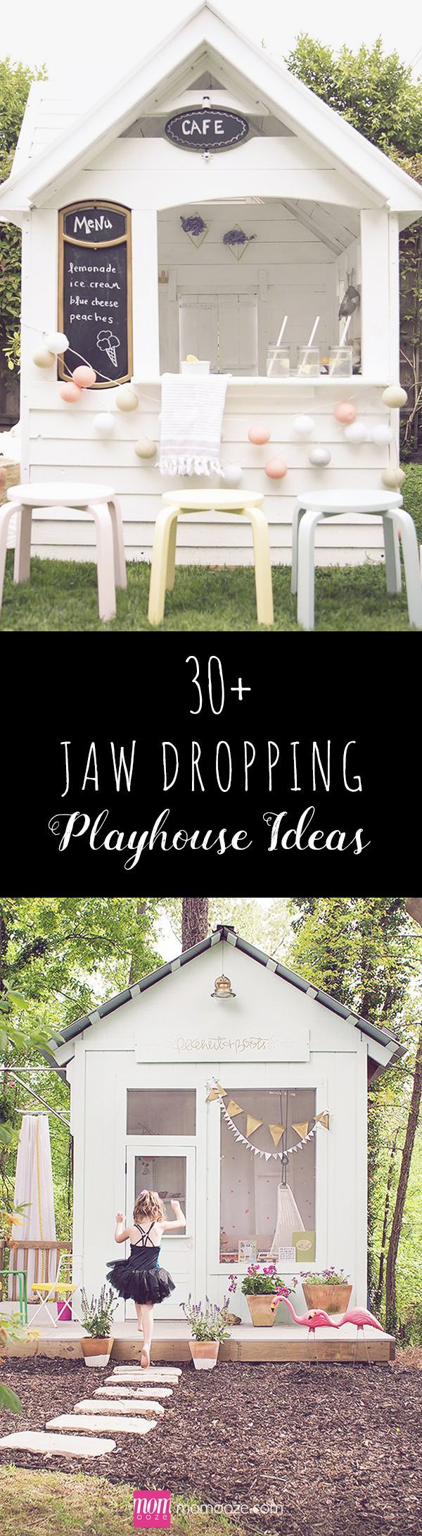 30+ Jaw Dropping Playhouse Ideas that you Would Want to Live in: