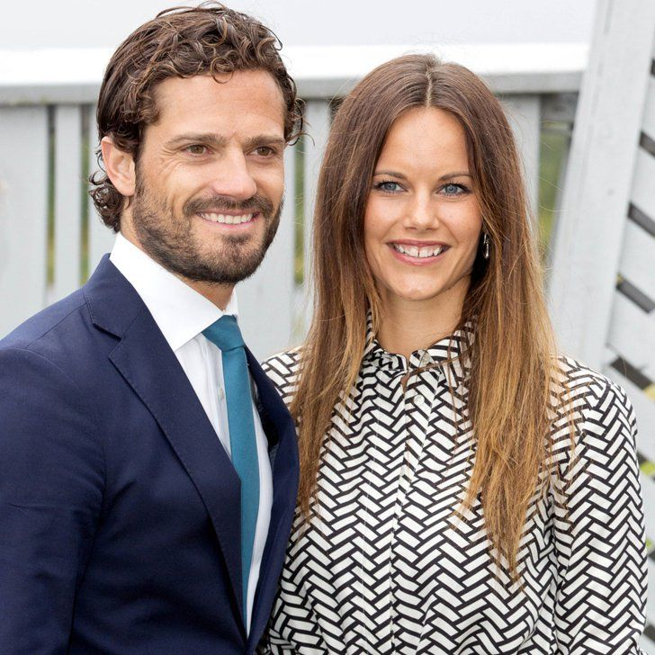 Prince Carl Philip and Princess Sofia of Sweden Make a Picture-Perfect Visit