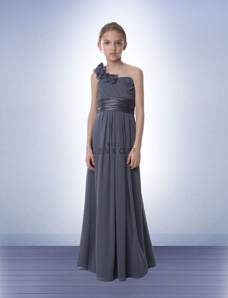 19 best junior maids images on Pinterest | Bridesmaid gowns, Flower ...