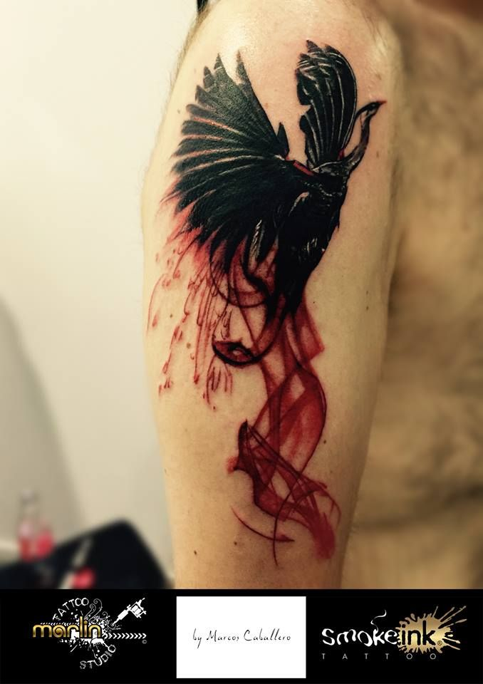 Phönix smoke ink ® tattoo by Marlin Tattoo Studio Essen