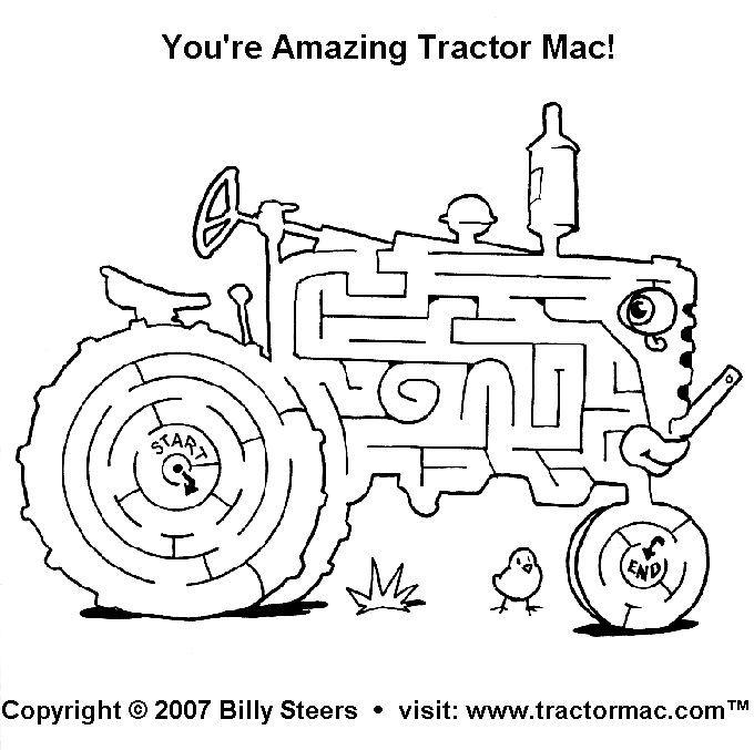 tractor template printable printable john deere coloring