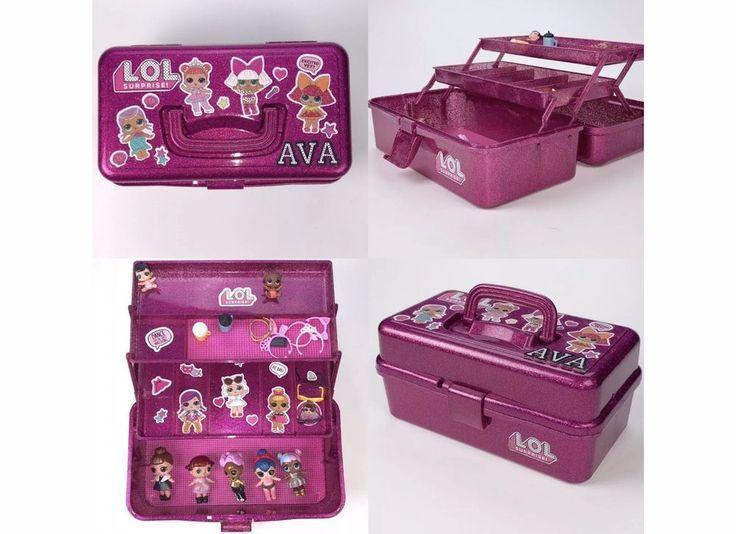 LOL Überraschungspuppen Personalisierte Aufbewahrungstasche Box | Ebay   – LOL … – LoL Dolls