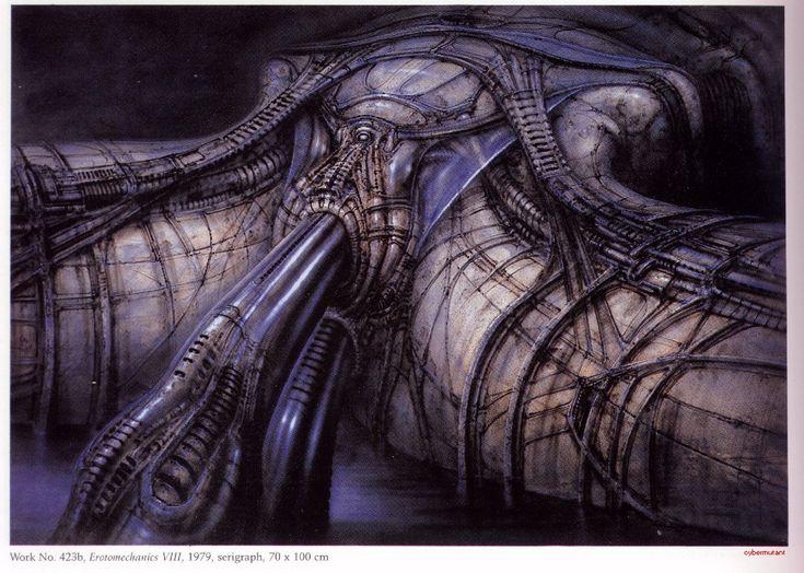H.R. Giger's Alien Resurrection blogged by Cazsha | Alien UFO Sightings