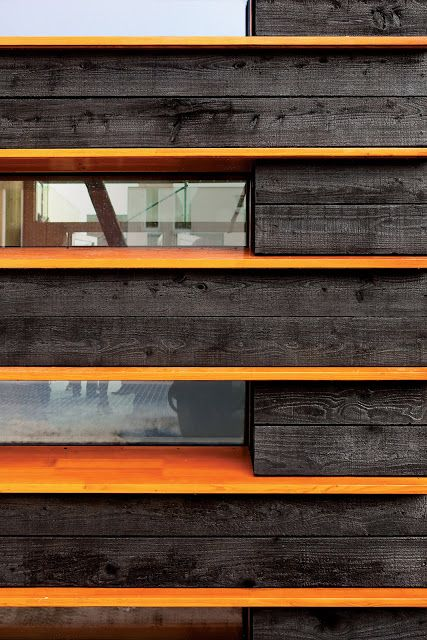 Charred Wood Siding   Architectoid