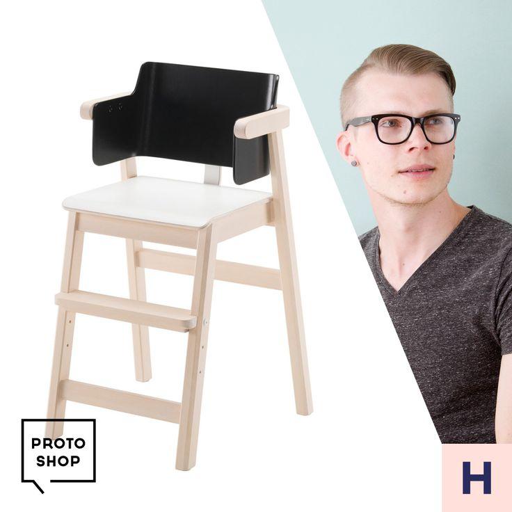 Petteri Häkkinen ja Sulo- lastentuoli.