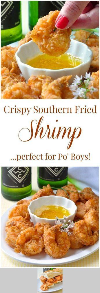Southern Fried Shrimp Po' Boy