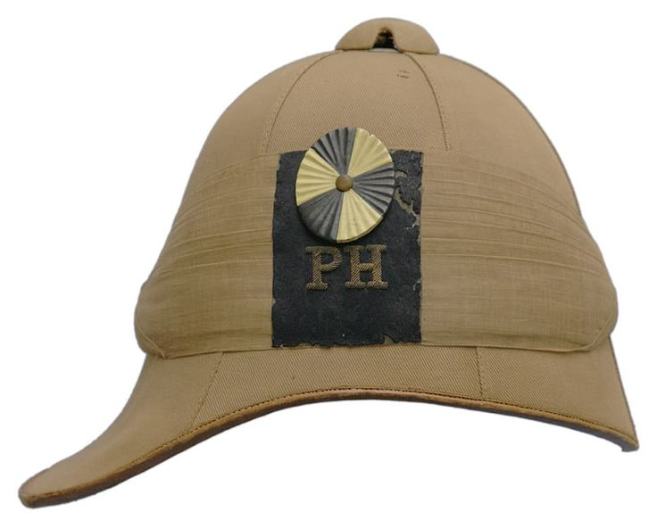 2nd Boer War Helmet of Paget's Horse (19th Imperial Yeomanry Battalion.) After the losses of the Black Week, Parliament decided to allow the recruiting of volunteers to fight in the Boer War.  These volunteers we designated the Imperial Yoemanry.  Among them were four companies of cavalry raised by adventurer George Thomas Cavendish Paget.