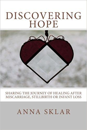 Discovering Hope: Sharing the Journey of Healing After Miscarriage, Stillbirth, or Infant Loss: Anna Lynne Sklar:   http://amzn.to/2tadgFs