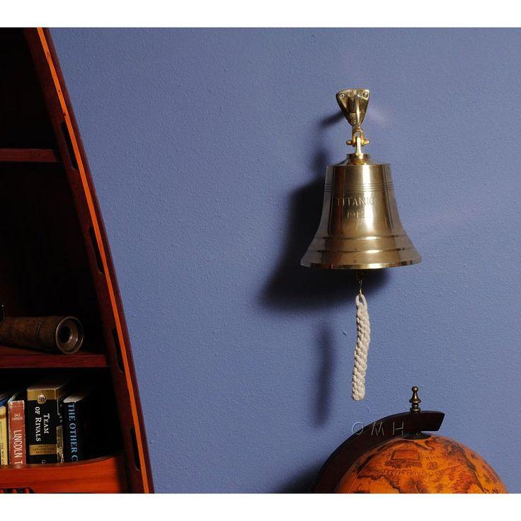 Old Modern Handicraft 8 in. Titanic Ship Bell - ND048