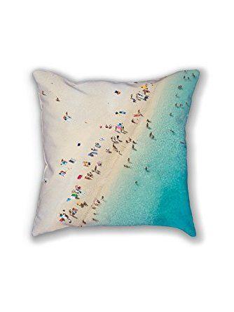 Mediterranean Dreams  Beach photography throw cushion and pillow cover