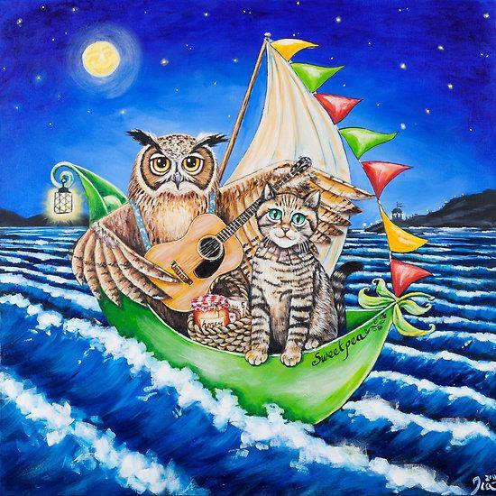 Owl & the pussycat