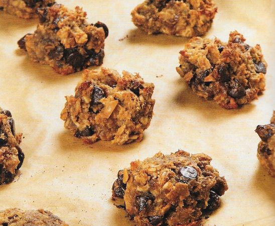 The Engine 2 Diet | Banana Oatmeal Peanut Butter Cookies- omit whole wheat/use oat flour